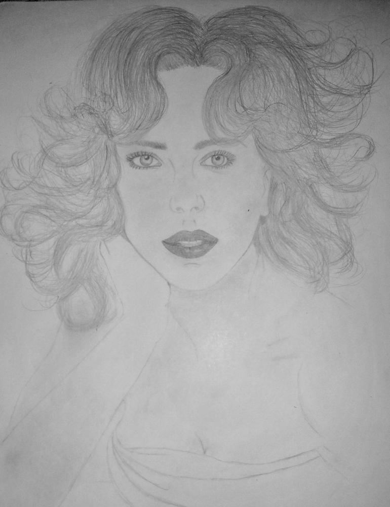 Scarlett Johansson par Anaispretty